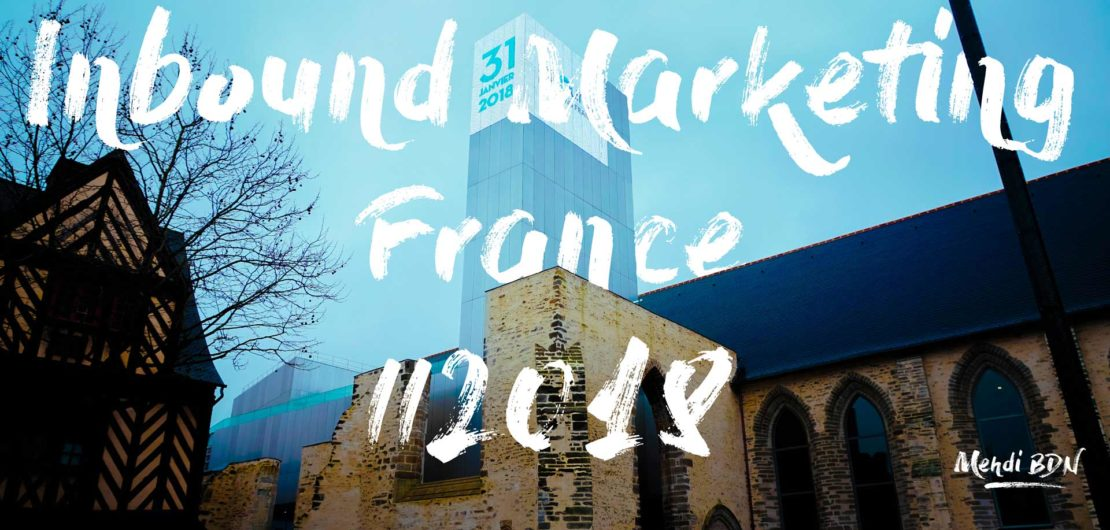 Inbound Marketing France 2018